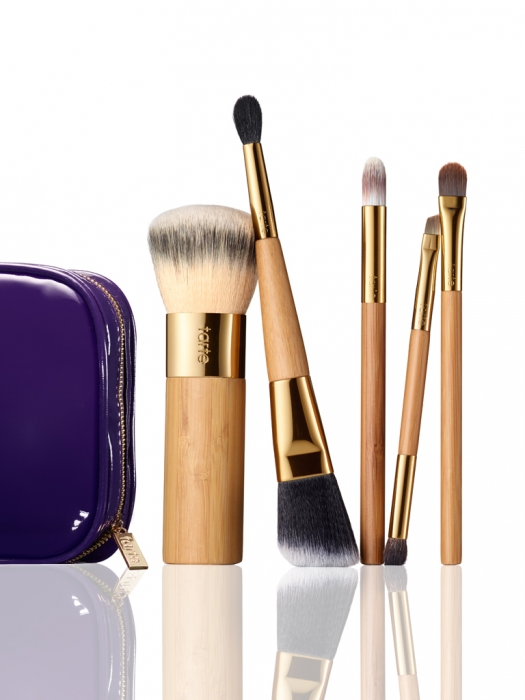 brushed by beauty 5-piece brush collection -